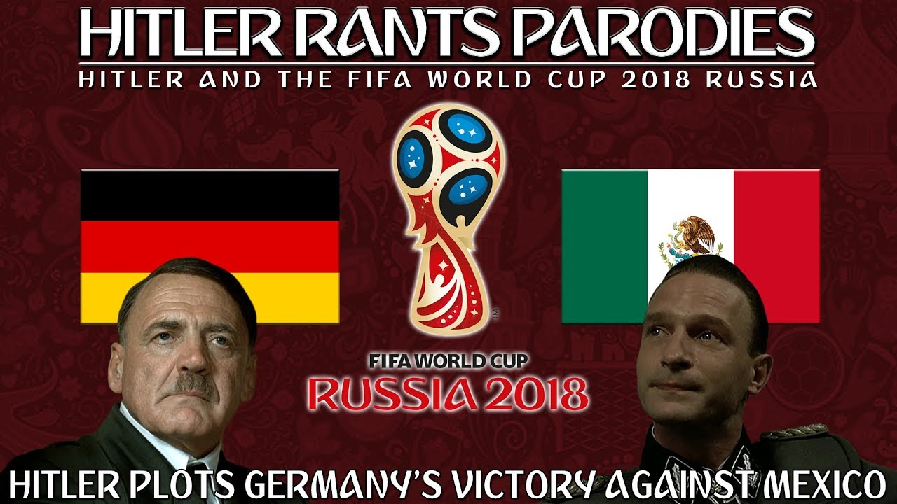 Hitler plots Germany's victory against Mexico in the World Cup