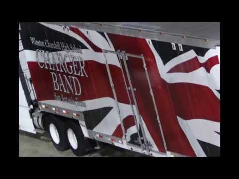 Winston Churchill High School Marching Band Going to Atlanta