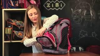 Обзор Школьных рюкзаков ZiBi, модель Ergo Bag