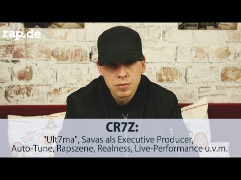 "CR7Z über ""Ult7ma"", Savas als Executive Producer, Auto-Tune, Rapszene, Realness u.v.m. 