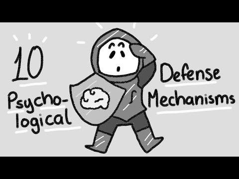 10 Psychological Defense Mechanisms