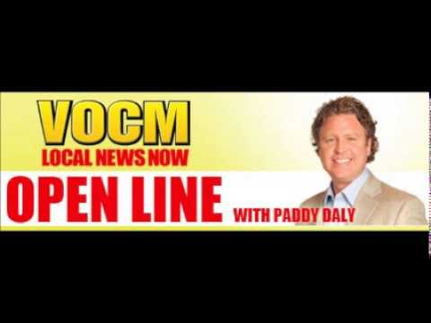 VOCM Open Line Paddy's Preamble About Quebec Hydro's Surplus Energy March 03 2014