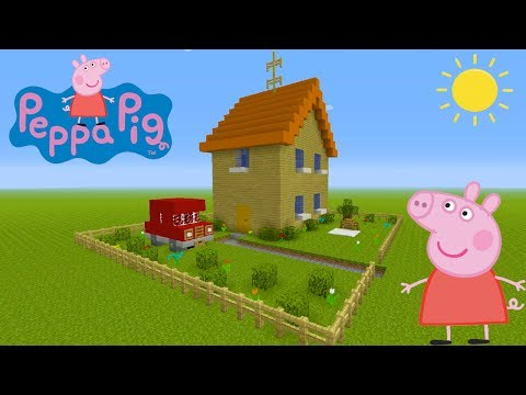 "Minecraft Tutorial: How To Make Peppa Pigs House ""Peppa Pig"""