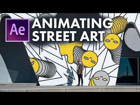 Animating Street Art & Graffiti - After Effects Tutorial ft. Demas Rusli