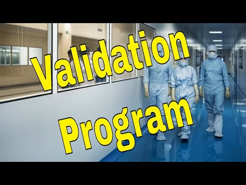 Validation Program In Pharmaceuticals