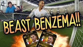 IF BENZEMA THE BEAST! FIFA 15 ULTIMATE TEAM