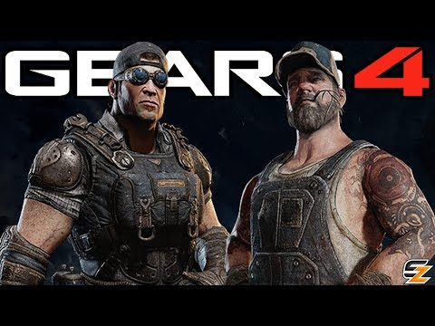 Gears of War 4 - New COG Characters Gear Pack teased!