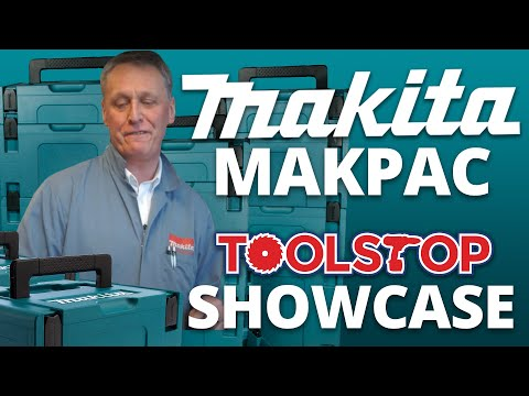 Makita Makpac Connector Cases and Inlays from Toolstop