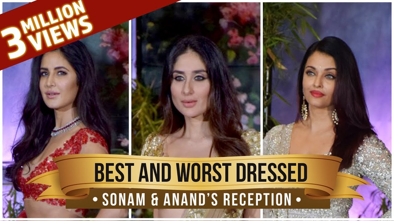 Kareena Kapoor, Aishwarya Rai, Katrina Kaif: Best and Worst Dressed from Sonam & Anand's re