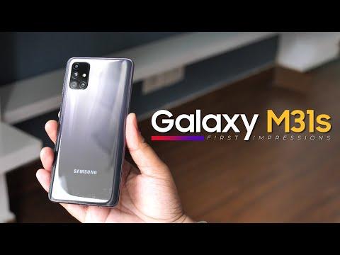 Samsung Galaxy M31s First Impressions!