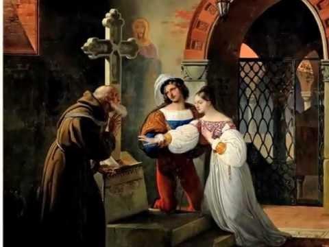 Ромео и Джульетта. История любви в живописи