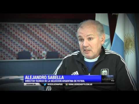 "Entrevista de ""Líderes Hoy"" a Alejandro Sabella - 1° parte"