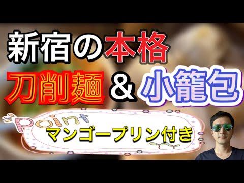 【小旅行気分】新宿のピリ辛の刀削麺 〜新宿駅からアクセス簡単〜【Knife-cut noodle】Chinese style noodle & dumpling in Shinjuku, Tokyo.