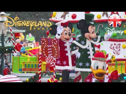 DISNEYLAND PARIS  Watch The Whole Christmas Parade 2018   Disney UK