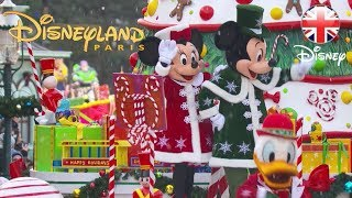 DISNEYLAND PARIS | Watch The Whole Christmas Parade! 2018 | Official Disney UK