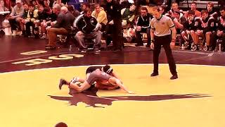 #3 Ranked Dylan Albrecht from W-SR  vs  Ranked WI wrestler,Mason Campshure from Kaukana