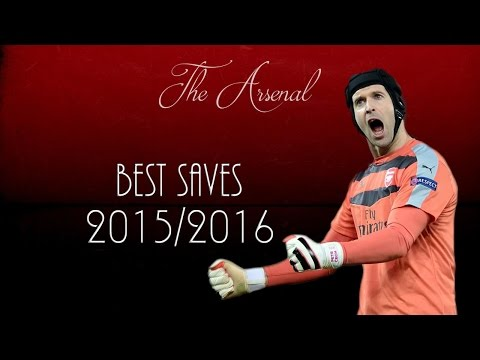Petr Čech ● Best Saves 2015/16 ● Arsenal FC