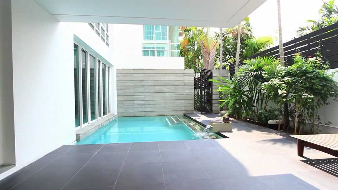 Modern Minimalist Decor With A Homey Flow: Stand Out House In Bangkok In Modern Minimalist Design