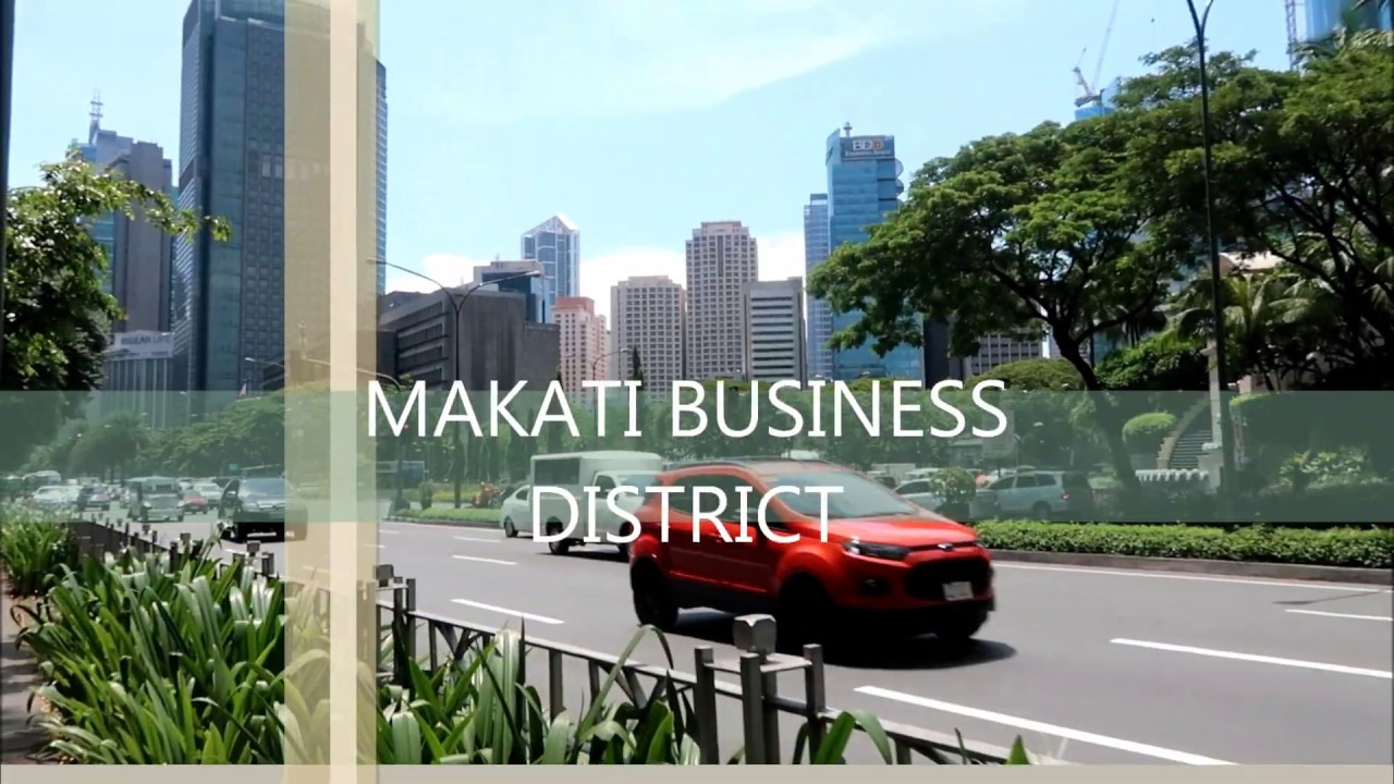 MAKATI BUSINESS DISTRICT - AUGUST 2019