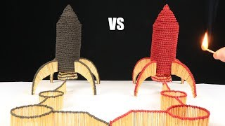 Match Chain Reaction Amazing Fire Domino SPACE ROCKETS