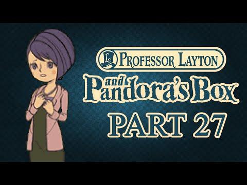 Professor Layton and Pandora's Box — Part 27 — Escape