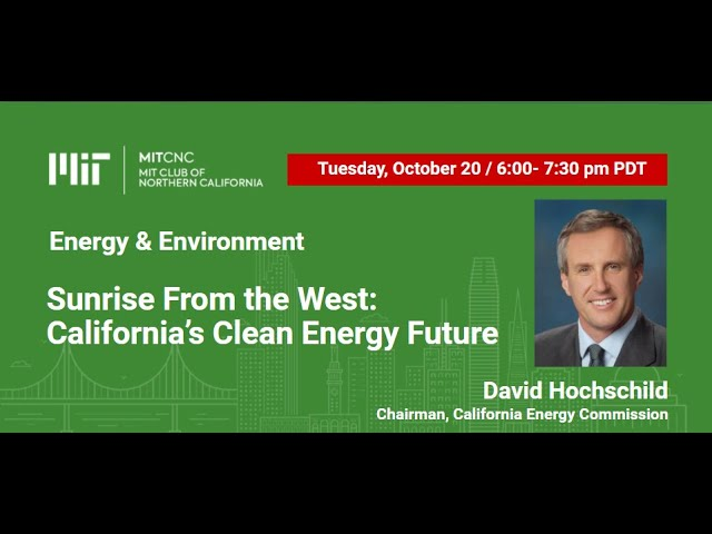Sunrise From the West: California's Clean Energy Future