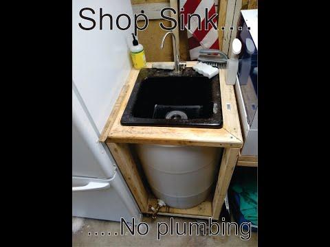 Shop Sink... No plumbing?