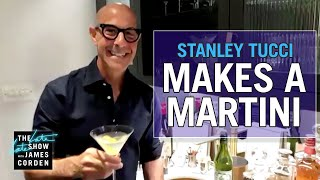 After seeing a video of stanley tucci making negroni go viral, james connects with his friend and asks for some help in first-ever martini.more ...
