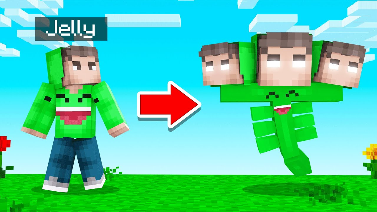 TURNING JELLY Into A Minecraft BOSS! (strong)
