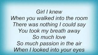 Lionel Richie - Dance The Night Away Lyrics
