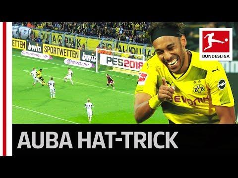 Aubameyang on Fire - 3 Goals Against Mönchengladbach