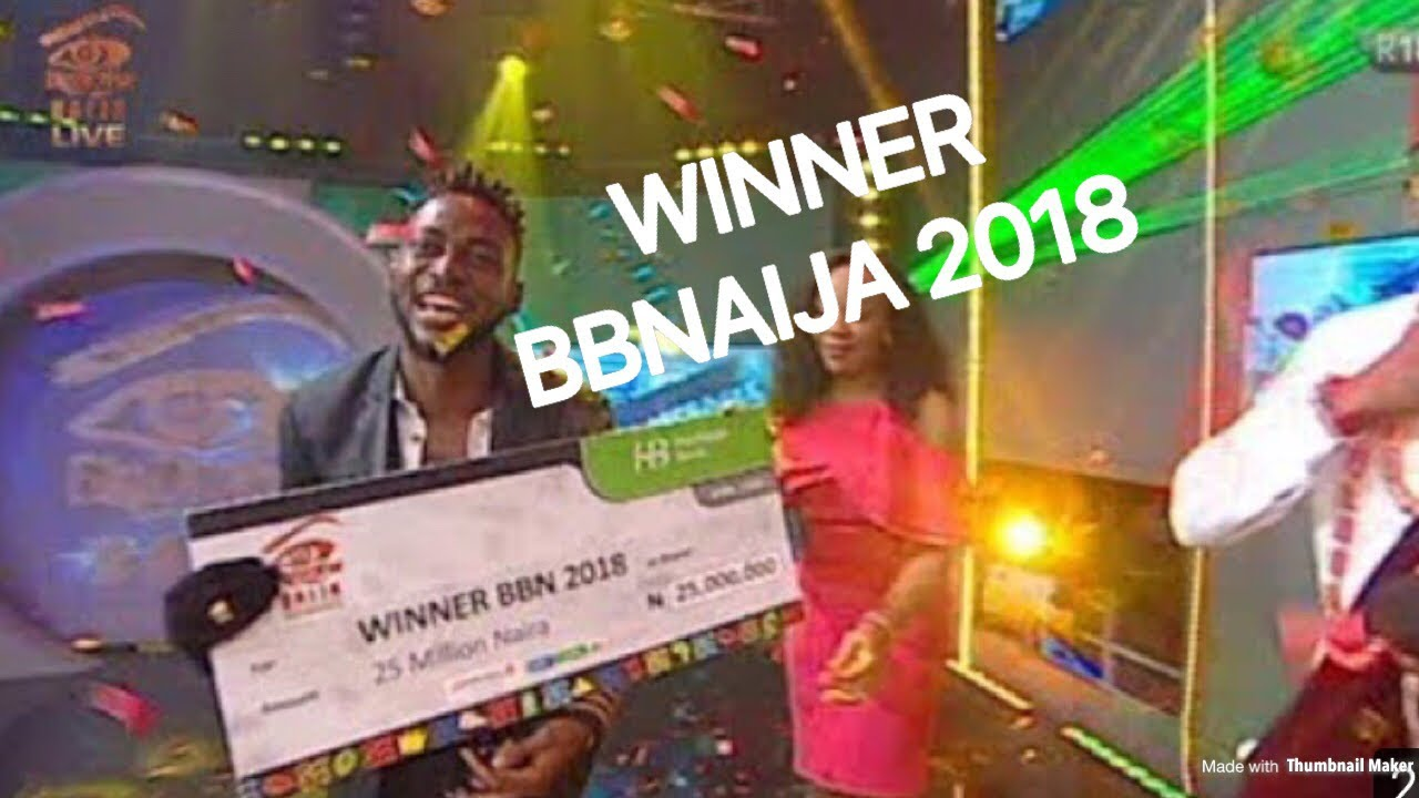 Image result for who was the winner of bbnaija 2018