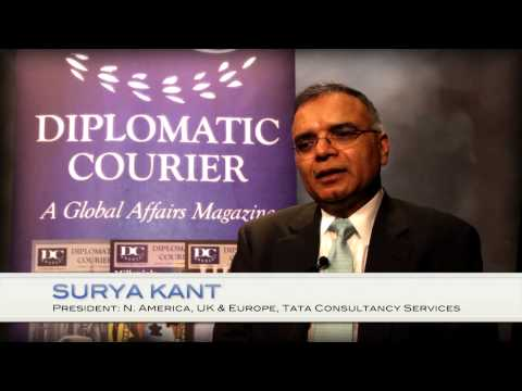 Surya Kant of Tata Consultancy Services: Impact of Population Growth on India's Economy