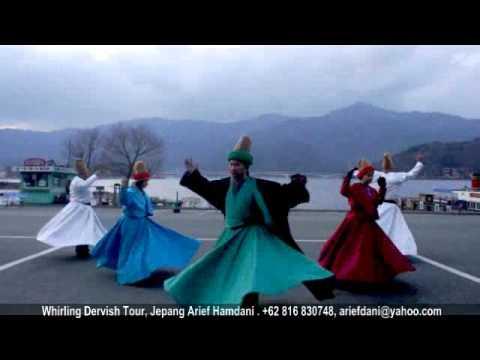 Pondok Rumi Whirling Dervish Jepang tTour Part 1