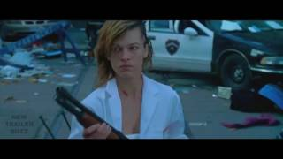 05 RESIDENT EVIL 6  THE FINAL CHAPTER Trailer NYCC 2017 Milla Jovovich Zombie Movie   YouTube