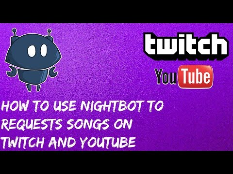 """How To setup Song Requests To Twitch and Youtube Using Nightbot -  Music/Songrequests stream setup"