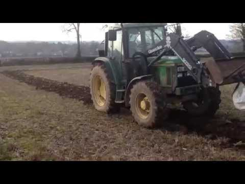 How to conventional plough. Set opening