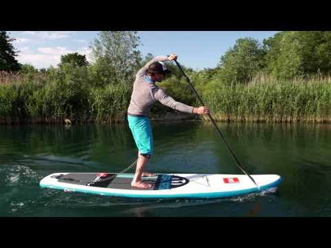 How to Stand Up Paddleboard, SUP, Paddling using your core