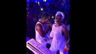 Braless Fan Thrill At Orezi All White Party  -  Video