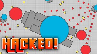 HACKING DIEP.IO // Best strategy to BREAK WORLD RECORDS & become #1 //Best extension to use in Diep