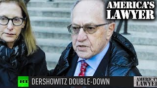 Dershowitz Continues To Double-Down On Lowering Age Of Consent