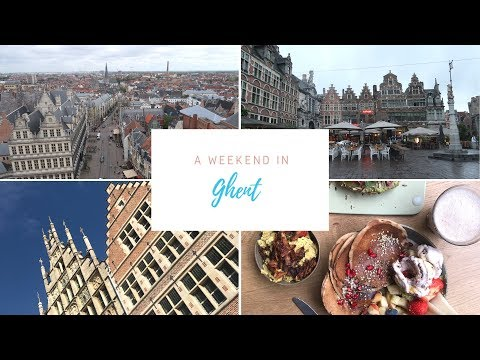 Travel Vlog | A Weekend In Ghent