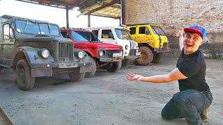 Вся коллекция автомобилей которые мы купили на аукционе