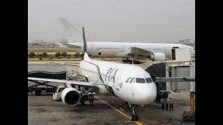 Bangkok to Karachi by Pakistan International Airlines, A320.