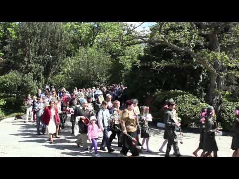 День Великой Победы в Форосе! Шествие и митинг. (Часть 1/3) [09.05.2015]
