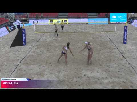 Four nations beach volleyball tournament