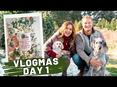 VLOGMAS Day 1 | Decorate With Us