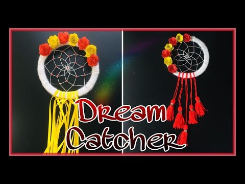 DIY Dream Catcher Without Feathers|| Dream Catcher Step By Step Tutorial|| Boho Style Dream Catcher