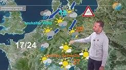 Aktuelle Wetterprognose für den 10. Juni 2020. Noch kühl mit Regen, am Freitag sonnig & 30 Grad.