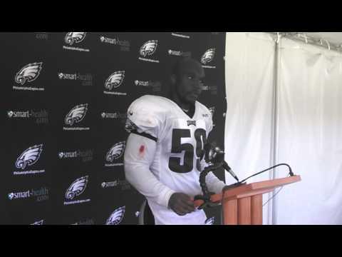 Eagles LB DeMeco Ryans talks about the defense